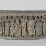 Relief of Shakyamuni and Jivaka Taking the Infant Jyotishka from the Pyre