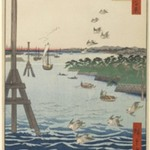 View of Shiba Coast, No. 108 from One Hundred Famous Views of Edo