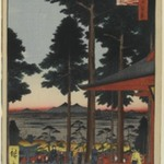 Oji Inari Shrine, No. 18 in One Hundred Famous Views of Edo