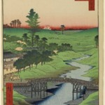 Furukawa River, Hiroo, No. 22 in One Hundred Famous Views of Edo