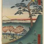 Original Fuji, Meguro, No. 25 in One Hundred Famous Views of Edo
