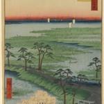 Moto-Hachiman Shrine, Sumamura, No. 29 in One Hundred Famous Views of Edo