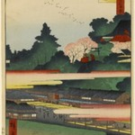 Ichigaya Hachiman Shrine, No. 41 in One Hundred Famous Views of Edo