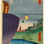 Sanno Festival Procession at Kojimachi l-Chome, No. 51 from One Hundred Famous Views of Edo
