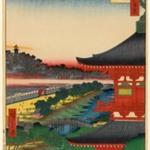 Zojoji Pagoda and Akabane, No. 53 from One Hundred Famous Views of Edo