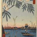 Ayase River and Kanegafuchi, No. 63 from One Hundred Famous Views of Edo