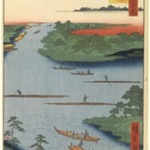 Nakagawa River Mouth, No. 70 from One Hundred Famous Views of Edo