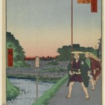 Kinokuni Hill and Distant View of Akasaka Tameike, No. 85 from One Hundred Famous Views of Edo