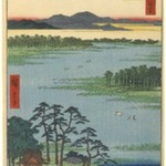 Benten Shrine, Inokashira Pond, No. 87 from One Hundred Famous Views of Edo
