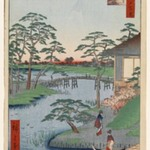 Mokuboji Temple, Uchigawa Inlet, Gozensaihata, No. 92 from One Hundred Famous Views of Edo