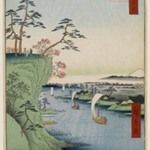 View of Konodai and the Tone River, No. 95 from One Hundred Famous Views of Edo