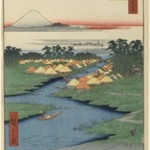 Horie and Nekozane, No. 96 from One Hundred Famous Views of Edo