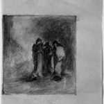 Study for the Marys at the Tomb
