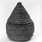 Cone Shaped Basket with Cover