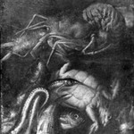 Still Life - Lobster, Turtle, Fish and Eels