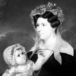 Mrs. Eleanor Doran and Her Daughter Margaret