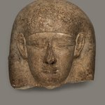 Head from a Sarcophagus Lid