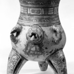 Jaguar Effigy Vessel