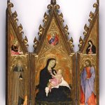Madonna of Humility, portable altarpiece