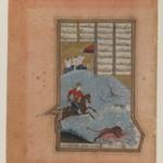 Folio from a Manuscript of the Khamsa of Nizami