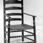 Armchair, Slatback