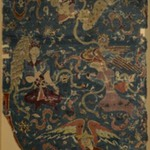 Carpet Fragment depicting Angels