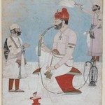 Portrait of Raja Sansar Chand of Kangra
