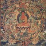 Amitabha Buddha in his Paradise