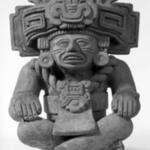 Seated Figure with Headdress