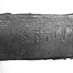 Fragment Inscribed for Taharqa
