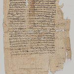Papyrus Inscribed in Demotic and Greek