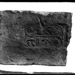 Brick with Cartouche of Thutmose III