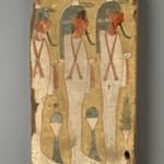 Sons of Horus on Coffin Fragment