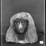 Head of a Woman Wearing an Elaborate Wig