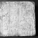 Relief Fragment with Hieroglyphs