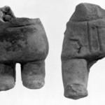 Lower Part of Molded Figurine
