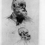 Victor Hugo de Trois-quart