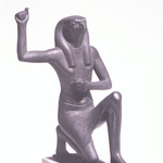 One of the Souls of Buto in the Pose of Rejoicing