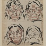 Sketch of Four Faces