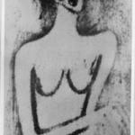 Crouching Female Nude (Hockender weiblicher Akt)