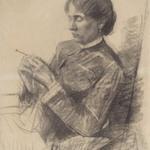 Portrait of Madame la Comtesse Adèle de Toulouse-Lautrec