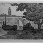 The Port at Saint Tropez (Le Port de Saint-Tropez)