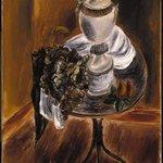 Alabaster Vase and Fruit