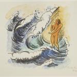 Woman in the Waves (Frau in Wellen)