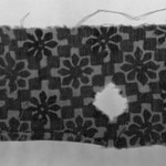 Egypto-Arabic Textile, Fostate Print found in Egypt