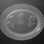 Plate (George Washington, James Garfield, & Abraham Lincoln)