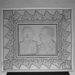 Tray or Plaque (Benjamin Harrison & Levi Morton)