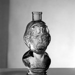 Bottle, Bust of Henry Ward Beecher