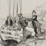 Embarkation of a Lady (Embarquement dune dame)