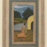 Yogini in a Landscape